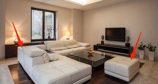 Chuyên gia thiết kế nội thất bắt lỗi 7 sai lầm trong thiết kế khiến phòng khách trở nên kém sang: Điều chỉnh 1 chi tiết nhỏ thôi cũng nâng tầm cho ngôi nhà của bạn - Ảnh 3.