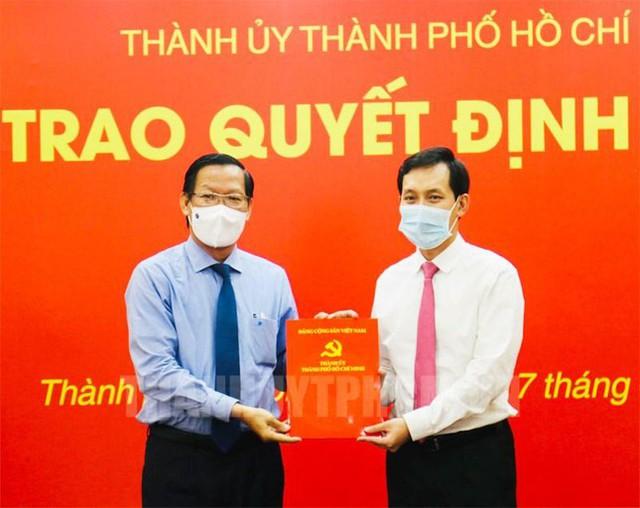 Thành ủy TPHCM chỉ định ông Vũ Anh Khoa làm Bí thư Đảng ủy Saigon Co.op  - Ảnh 1.