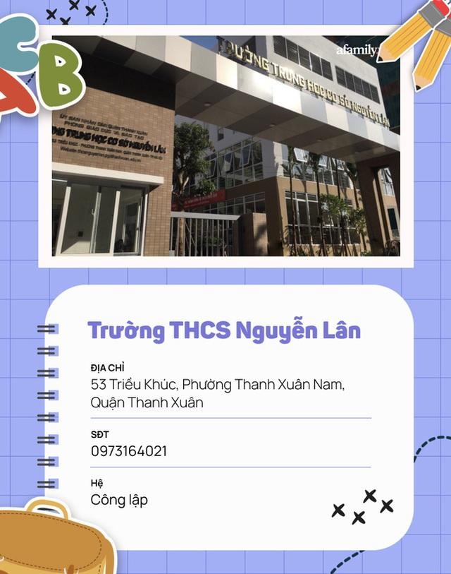 15 trường cấp 2 ở quận Thanh Xuân: Quá nhiều cái tên xuất sắc, có nơi được công nhận là trường Quốc tế Cambridge - Ảnh 12.