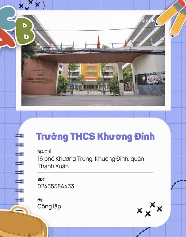 15 trường cấp 2 ở quận Thanh Xuân: Quá nhiều cái tên xuất sắc, có nơi được công nhận là trường Quốc tế Cambridge - Ảnh 8.