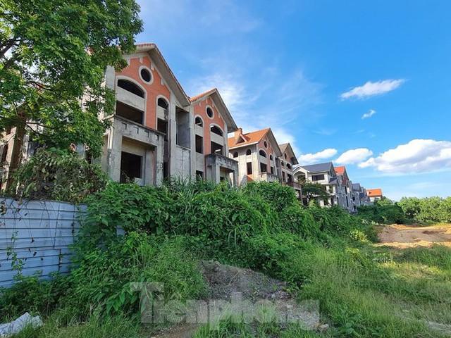 Tận thấy dự án du lịch biến thành khu toàn biệt thự để bán ở Hà Nội  - Ảnh 4.