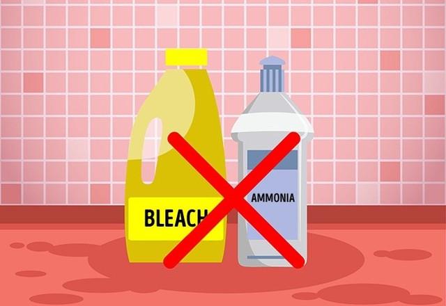 8 sản phẩm tẩy rửa tuyệt đối không bao giờ trộn chung với nhau để làm sạch - Ảnh 2.
