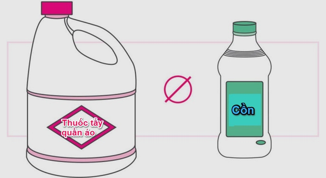 8 sản phẩm tẩy rửa tuyệt đối không bao giờ trộn chung với nhau để làm sạch - Ảnh 3.