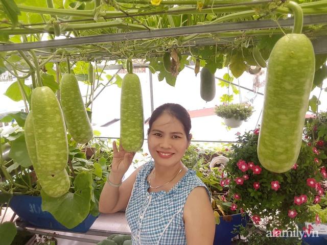 Khu vườn thạch sanh bội thu rau quả quanh năm trên sân thượng ở Sài Gòn - Ảnh 5.