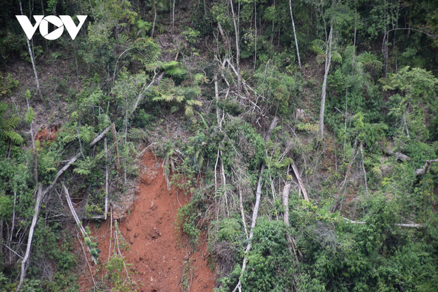 Cận cảnh thủy điện TrHy 13 năm xây chưa xong, cây rừng bị chặt ngổn ngang - Ảnh 6.