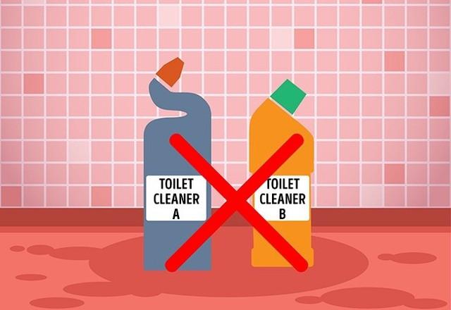 8 sản phẩm tẩy rửa tuyệt đối không bao giờ trộn chung với nhau để làm sạch - Ảnh 8.