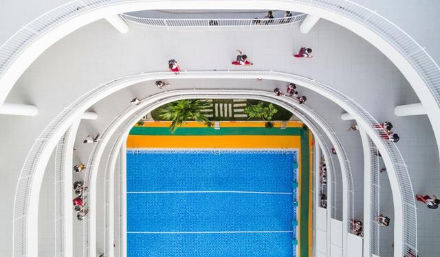 Tin nổi không, một ngôi trường học ở Tây Ninh có cảnh quan đẹp nín thở như resort cao cấp - Ảnh 9.