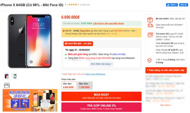 iPhone X, iPhone 11 giá rẻ đang tràn ngập thị trường, người dùng cẩn thận kẻo tiền mất tật mang - Ảnh 1.