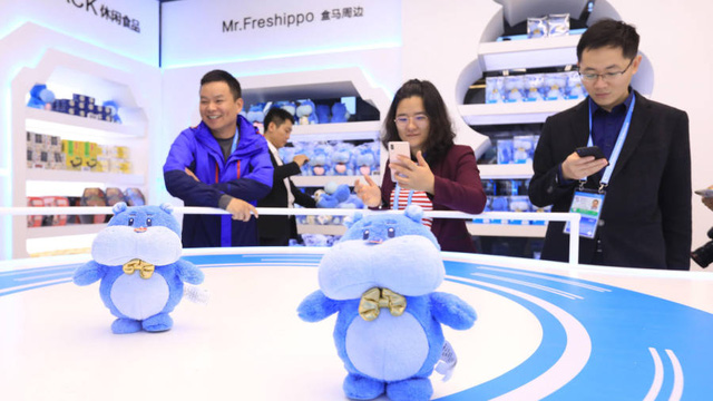 Đây là siêu thị trong mơ của tỷ phú Jack Ma: robot phục vụ, thanh toán bằng nhận diện khuôn mặt, mua hàng sướng như vua - Ảnh 3.