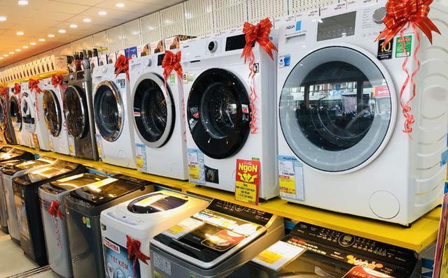 Máy giặt đời mới giảm giá sốc 50%, nhiều mẫu rẻ khó tin chỉ 6,4 triệu đồng - Ảnh 1.