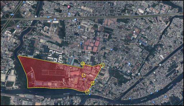NÓNG: TP HCM phong tỏa một khu phố hơn 2.000 dân ở quận 8 từ 12 giờ hôm nay  - Ảnh 1.