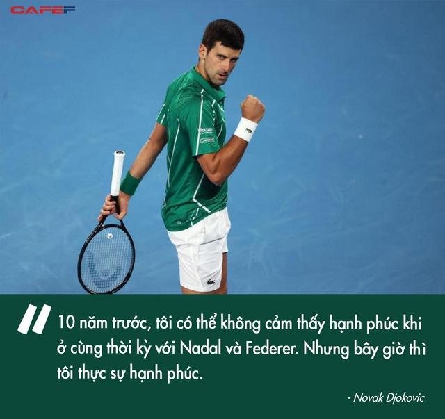 Chiến binh bất tử Novak Djokovic và nỗ lực chấm dứt kỷ nguyên thống trị của Federer-Nadal: Muốn đội vương miện, phải chịu được sức nặng của nó - Ảnh 8.