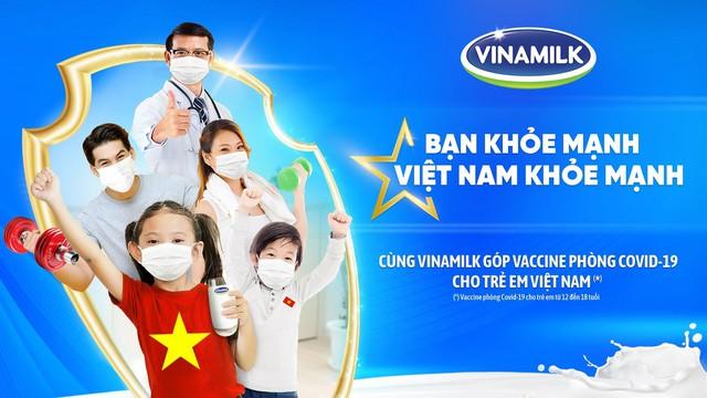 Cùng góp Vaccine phòng Covid-19 cho trẻ em 12 – 18 tuổi qua chiến dịch Bạn khỏe mạnh, Việt Nam khỏe mạnh của Vinamilk - Ảnh 1.