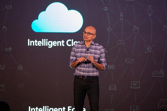 Microsoft lần đầu đạt giá trị vốn hóa 2.000 tỷ USD - Ảnh 1.
