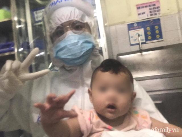 Mẹ mắc COVID-19 suy hô hấp nặng, bé gái 7 tháng tuổi được nữ bác sĩ vắt sữa chăm như con ruột - Ảnh 4.