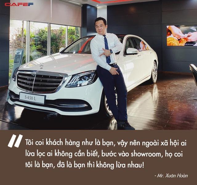 Mr. Xuân Hoàn – tay sales Mẹc khét tiếng Sài Gòn – tiết lộ nghệ thuật chốt đơn siêu xe bạc tỷ với giới nhà giàu: Coi khách như là bạn, không kỳ kèo về giá - Ảnh 4.