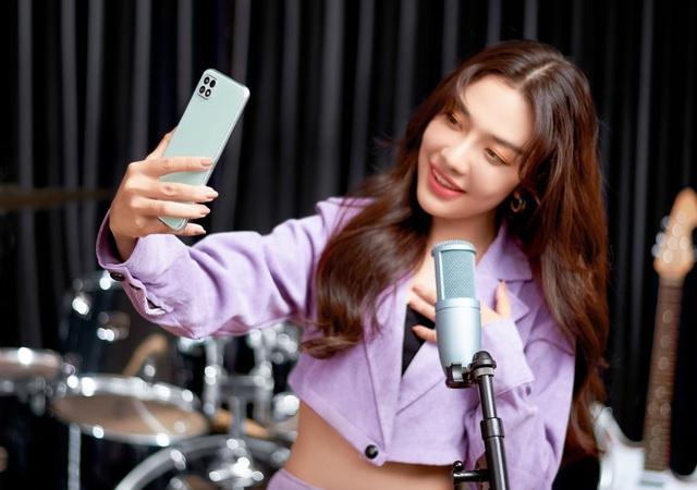 Galaxy A22 ra mắt tại Việt Nam - màn hình tần số quét cao, nhiều màu sắc, giá dưới 6 triệu - Ảnh 1.