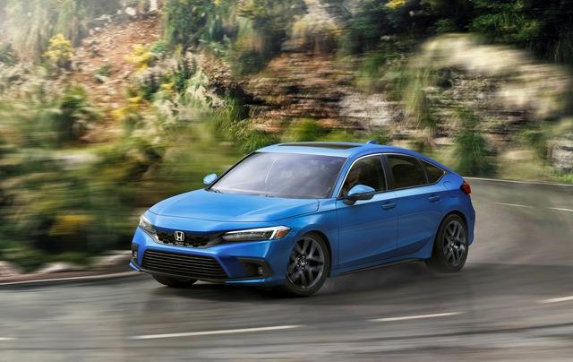 Honda Civic 2022 có thêm bản hatchback - thực dụng hơn, thêm lựa chọn số sàn - Ảnh 5.