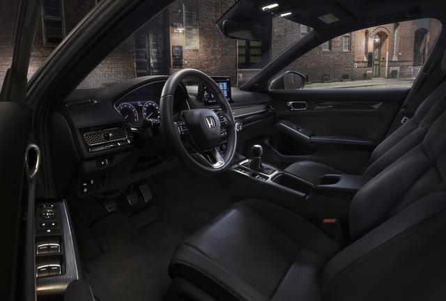 Honda Civic 2022 có thêm bản hatchback - thực dụng hơn, thêm lựa chọn số sàn - Ảnh 3.
