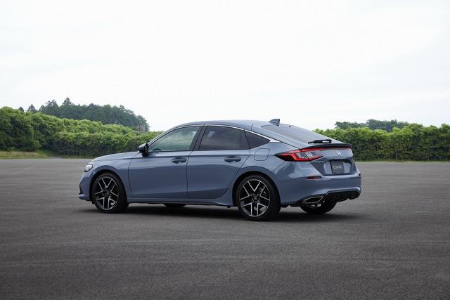 Honda Civic 2022 có thêm bản hatchback - thực dụng hơn, thêm lựa chọn số sàn - Ảnh 2.