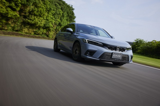 Honda Civic 2022 có thêm bản hatchback - thực dụng hơn, thêm lựa chọn số sàn - Ảnh 1.