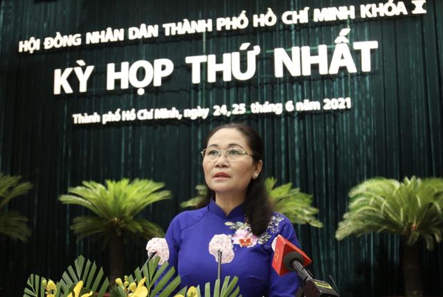 Bà Nguyễn Thị Lệ tái cử Chủ tịch HĐND TP HCM  - Ảnh 1.