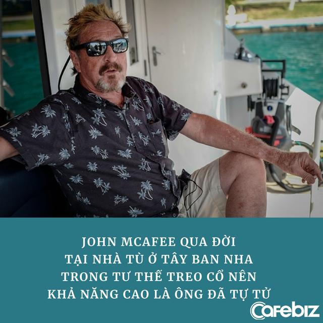 Cuộc đời đầy biến động của John McAfee – ông trùm công nghệ, tay bơm thổi tiền số khét tiếng một thời vừa qua đời trong tù - Ảnh 1.
