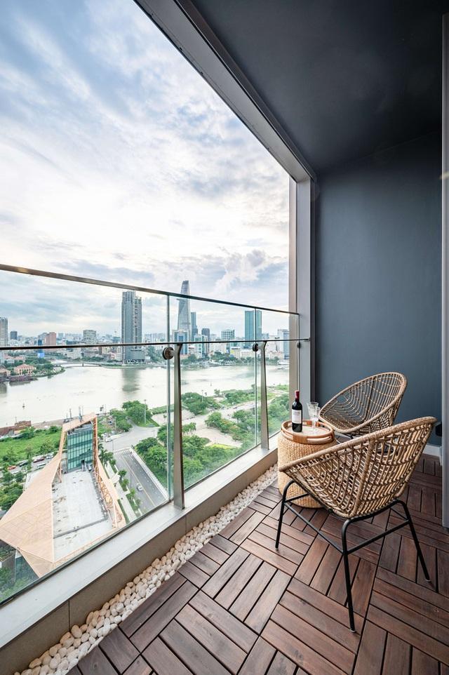 Căn hộ Indochine ăn điểm với cách phối màu cực tinh tế, phòng ngủ chuẩn khách sạn 5 sao với view đỉnh - Ảnh 16.