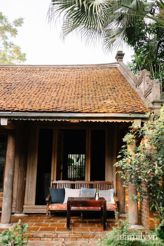 Cuộc sống yên bình trong ngôi nhà nhỏ và khu vườn xanh mát bóng cây ở ngoại thành Hà Nội - Ảnh 18.