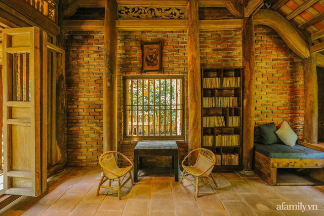 Cuộc sống yên bình trong ngôi nhà nhỏ và khu vườn xanh mát bóng cây ở ngoại thành Hà Nội - Ảnh 19.