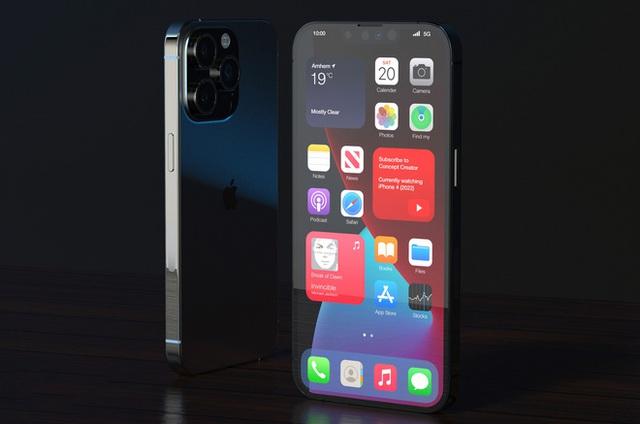 """Lộ concept iPhone 13 Pro Max màu đen """"bí ẩn"""", nhưng sao lại thế này? - Ảnh 4."""