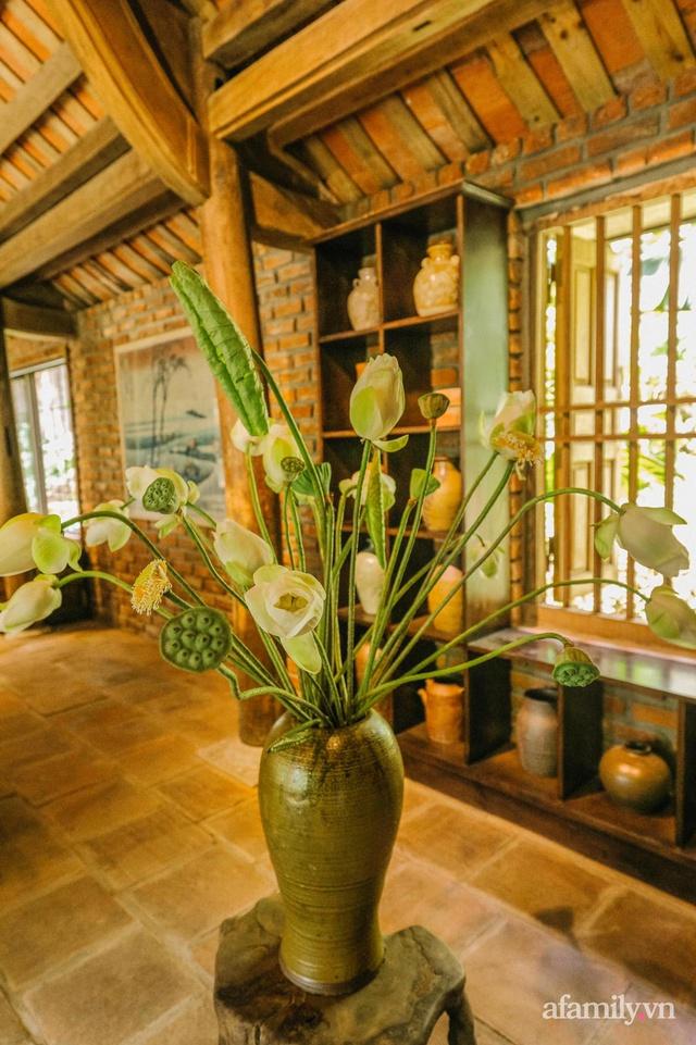 Cuộc sống yên bình trong ngôi nhà nhỏ và khu vườn xanh mát bóng cây ở ngoại thành Hà Nội - Ảnh 26.
