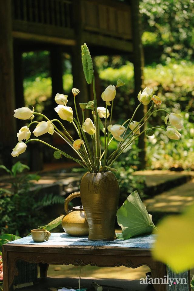 Cuộc sống yên bình trong ngôi nhà nhỏ và khu vườn xanh mát bóng cây ở ngoại thành Hà Nội - Ảnh 27.