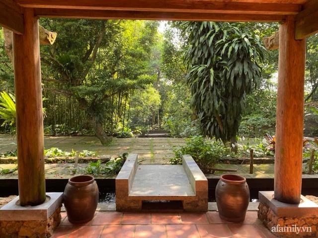 Cuộc sống yên bình trong ngôi nhà nhỏ và khu vườn xanh mát bóng cây ở ngoại thành Hà Nội - Ảnh 41.