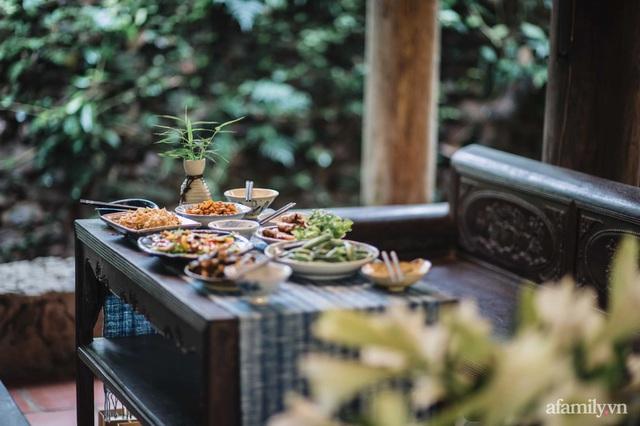 Cuộc sống yên bình trong ngôi nhà nhỏ và khu vườn xanh mát bóng cây ở ngoại thành Hà Nội - Ảnh 10.