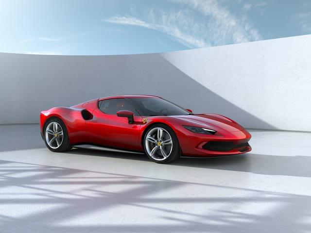 Ferrari tung siêu xe 296 GTB 2022: Động cơ V6 hybrid mạnh 819 mã lực, giá 321.000 USD - Ảnh 1.