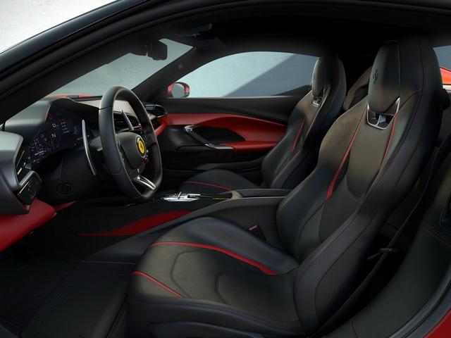 Ferrari tung siêu xe 296 GTB 2022: Động cơ V6 hybrid mạnh 819 mã lực, giá 321.000 USD - Ảnh 6.