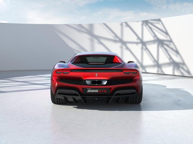 Ferrari tung siêu xe 296 GTB 2022: Động cơ V6 hybrid mạnh 819 mã lực, giá 321.000 USD - Ảnh 4.