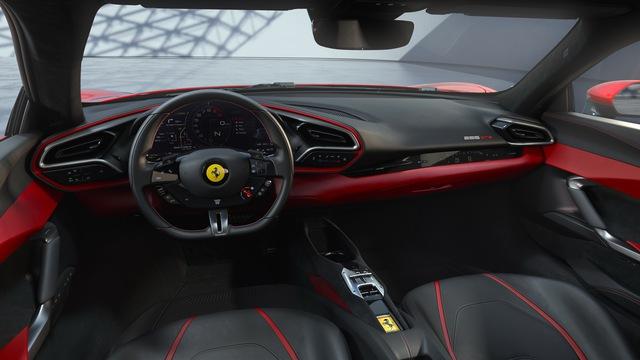 Ferrari tung siêu xe 296 GTB 2022: Động cơ V6 hybrid mạnh 819 mã lực, giá 321.000 USD - Ảnh 5.