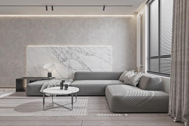 Kiến trúc sư tư vấn thiết kế nhà cấp 4 rộng 50m² cho 3 người, chi phí tiết kiệm chỉ 114 triệu đồng - Ảnh 2.