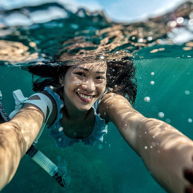 Zen Le - Cô gái Sài Gòn đam mê thể thao lặn biển đích thân trải nghiệm những tầng đại dương nguy hiểm mà không phải ai cũng được tới  - Ảnh 2.