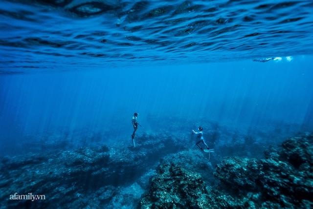 Zen Le - Cô gái Sài Gòn đam mê thể thao lặn biển đích thân trải nghiệm những tầng đại dương nguy hiểm mà không phải ai cũng được tới  - Ảnh 13.