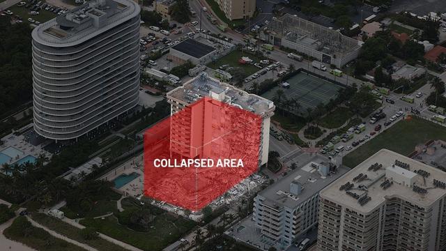 Hiện trường đổ nát vụ sập chung cư kinh hoàng ở Miami (Mỹ) - Ảnh 14.