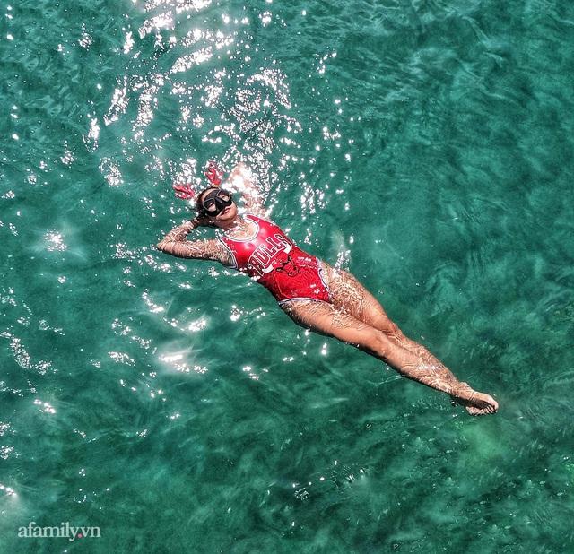 Zen Le - Cô gái Sài Gòn đam mê thể thao lặn biển đích thân trải nghiệm những tầng đại dương nguy hiểm mà không phải ai cũng được tới  - Ảnh 18.