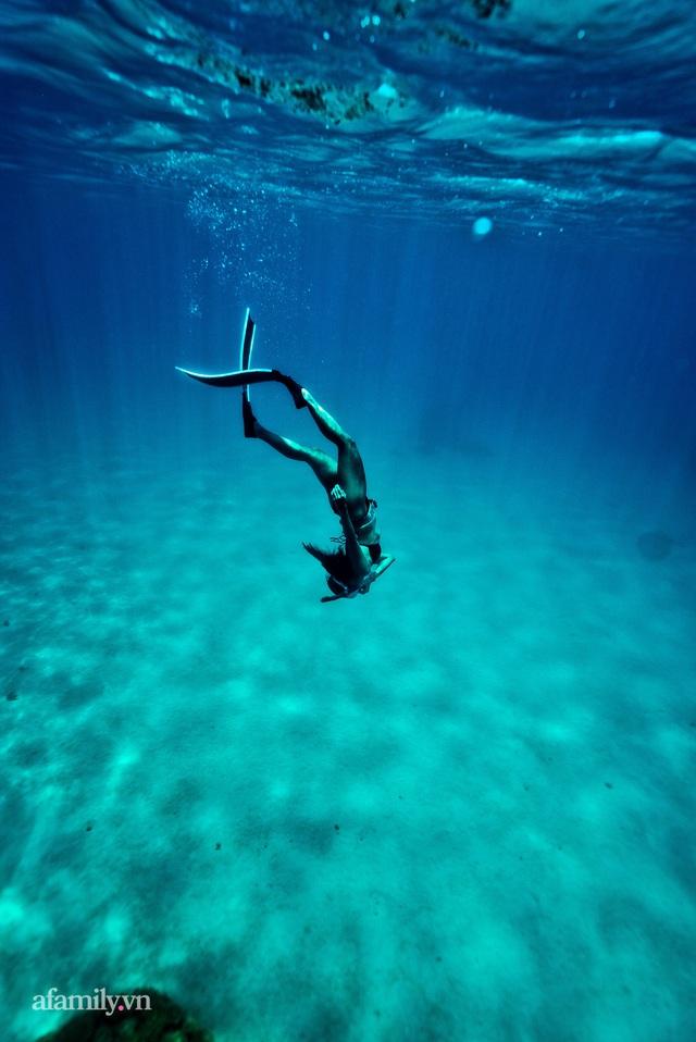 Zen Le - Cô gái Sài Gòn đam mê thể thao lặn biển đích thân trải nghiệm những tầng đại dương nguy hiểm mà không phải ai cũng được tới  - Ảnh 4.