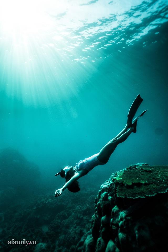 Zen Le - Cô gái Sài Gòn đam mê thể thao lặn biển đích thân trải nghiệm những tầng đại dương nguy hiểm mà không phải ai cũng được tới  - Ảnh 5.