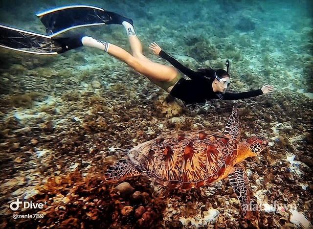 Zen Le - Cô gái Sài Gòn đam mê thể thao lặn biển đích thân trải nghiệm những tầng đại dương nguy hiểm mà không phải ai cũng được tới  - Ảnh 6.