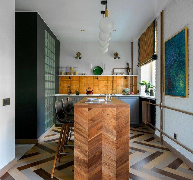 8 phong cách xịn sò cho những phòng bếp nhỏ: Mọi ngóc ngách được tận dụng triệt để, vừa đẹp vừa sang lại rất tiện  - Ảnh 1.