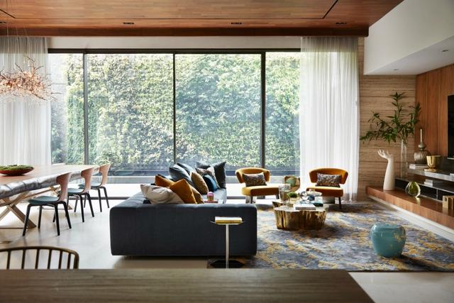 10 ý tưởng phòng khách hiện đại giữa thế kỷ 21, toàn là những xu hướng vượt thời gian nhìn là mê say - Ảnh 5.