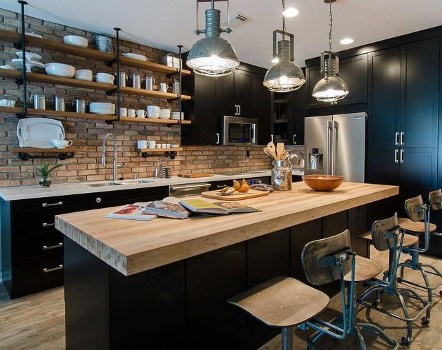 8 phong cách xịn sò cho những phòng bếp nhỏ: Mọi ngóc ngách được tận dụng triệt để, vừa đẹp vừa sang lại rất tiện  - Ảnh 3.